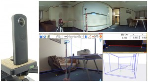3Dパノラマ画像を用いた3次元計測システム「Panomeasure2」パノメジャー2